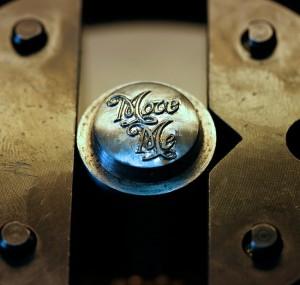 In process die engraving