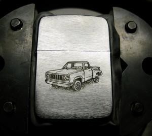 Dodge on Zippo