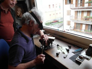 Gianfranco Pedersoli engraving