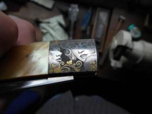 Pedersoli engraved knife