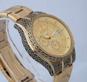 hand engraved invicta
