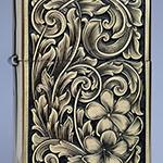 Hand engraved Zippo
