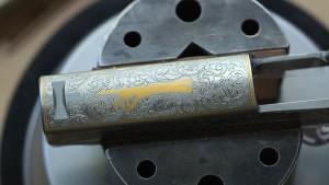 Arm gold inlay prepared